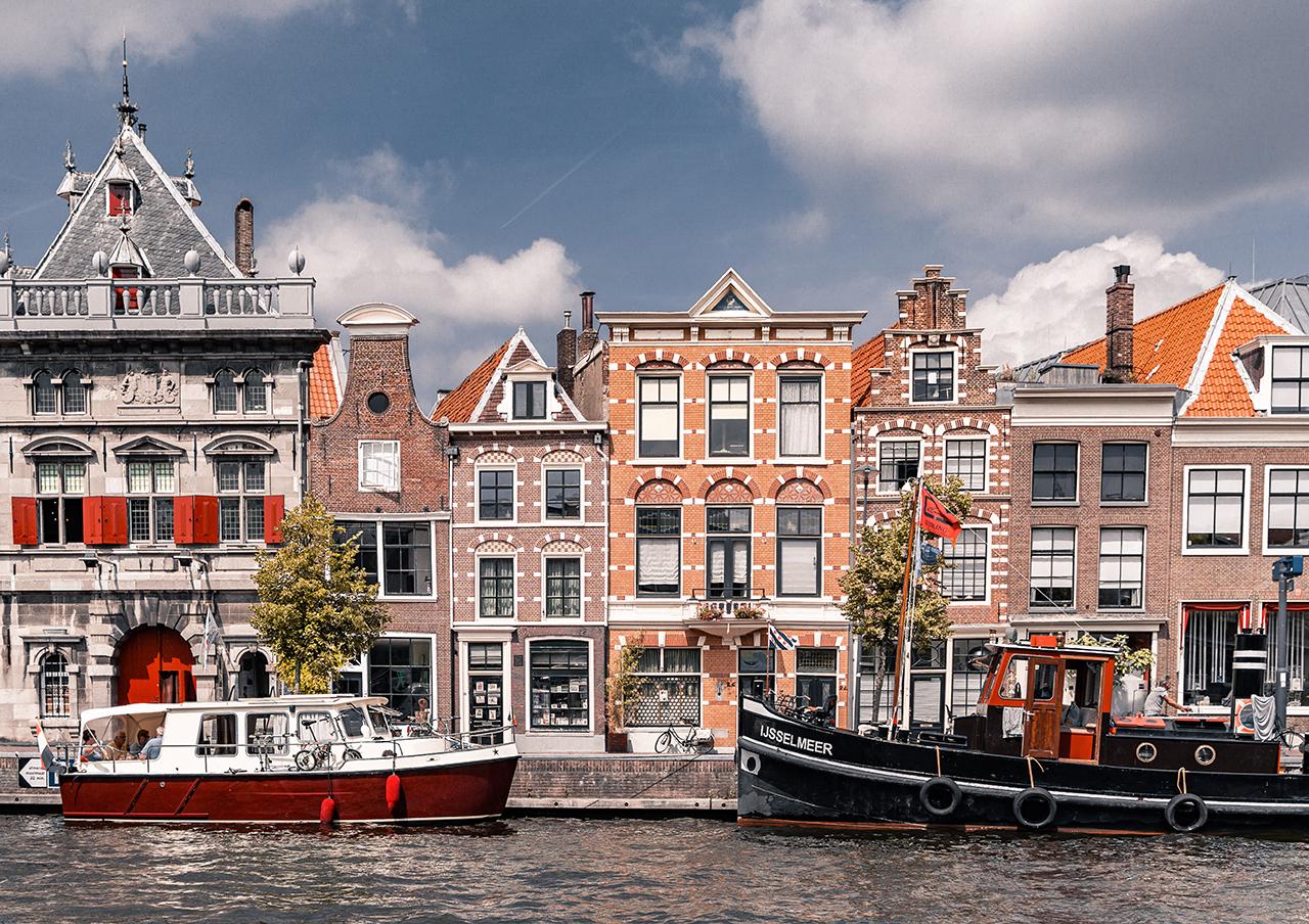 Gebouwen in Haarlem