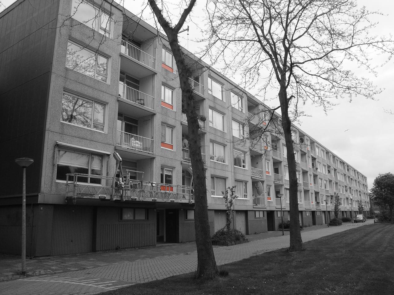 Gebouwen zwart/wit